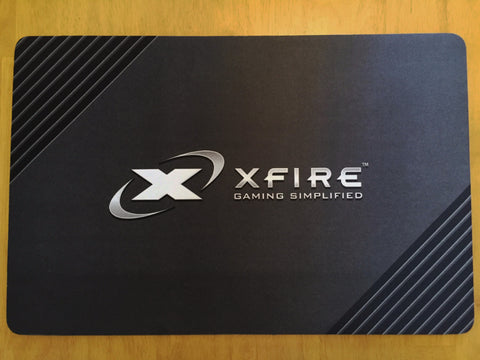 PureTrak XFire Special Edition Soft Cloth Mouse Pad