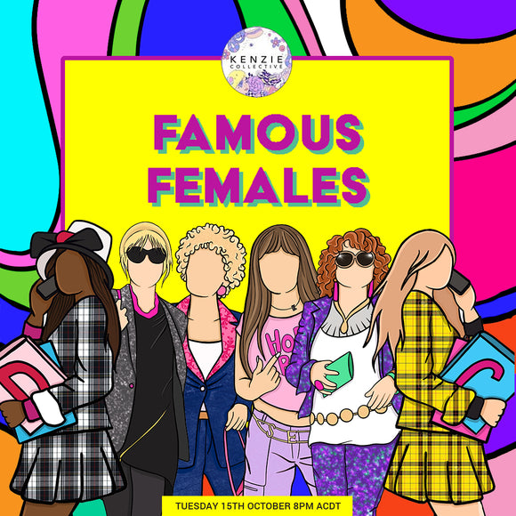 'Famous Females' Collection