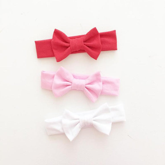 'Classic Red' Big Bow Headband