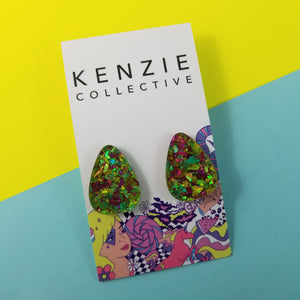 'Festive - Limicious Gem' Stud Earrings