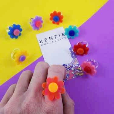 'Crazy Plant Lady' Ring - CHOOSE COLOUR