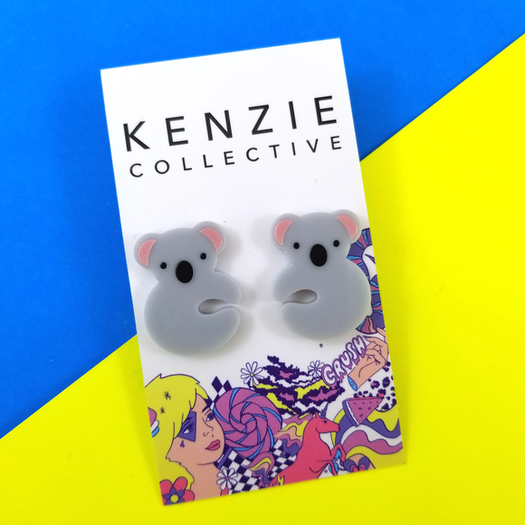 'Koala Lou - Fundraiser' Stud Earrings