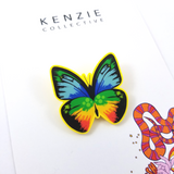 PRE-ORDER: 'Butterfly - Yellow' Brooch