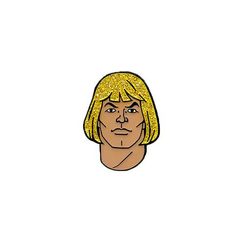 'Masters of the Universe: He-Man (Glitter)' Enamel Pin