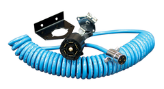 7 to 4 Coiled Power Cord