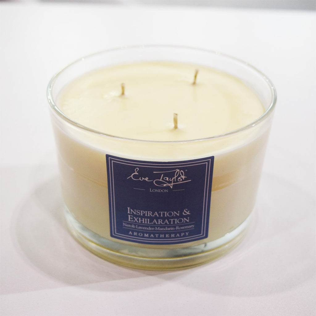 Inspiration & Exhilaration 3 Wick AromaWax Candle