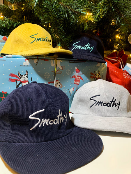 Smoothy Signature Cord Hat - Powder Day