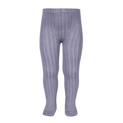 CONDOR TIGHTS - Ribbed in LILAC