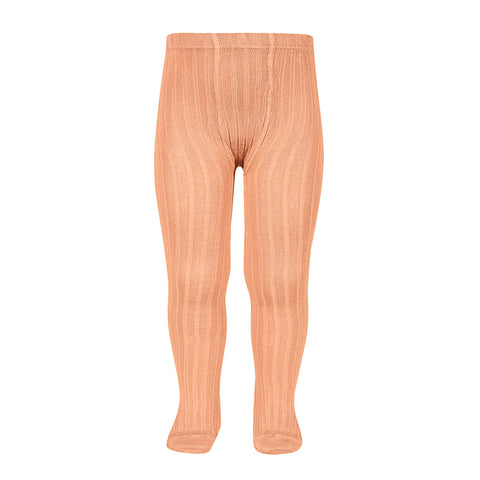 CONDOR TIGHTS - Ribbed in CANTELOUPE