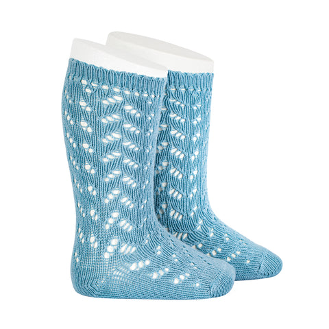CONDOR SOCKS - Full Lace in ICEBERG