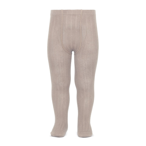 CONDOR TIGHTS - Ribbed in LATTE