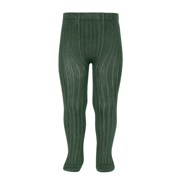 CONDOR TIGHTS - Ribbed in JUNIPER