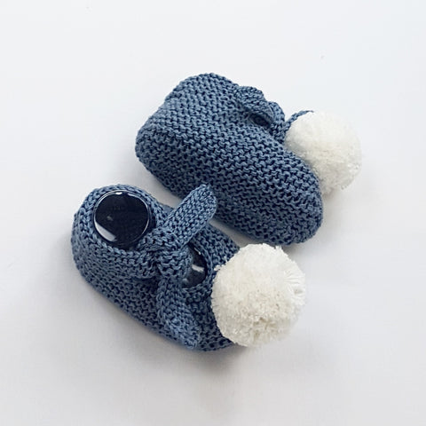 ARLO Baby Booties - Steel