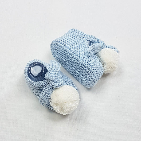ARLO Baby Booties - Azul Blue