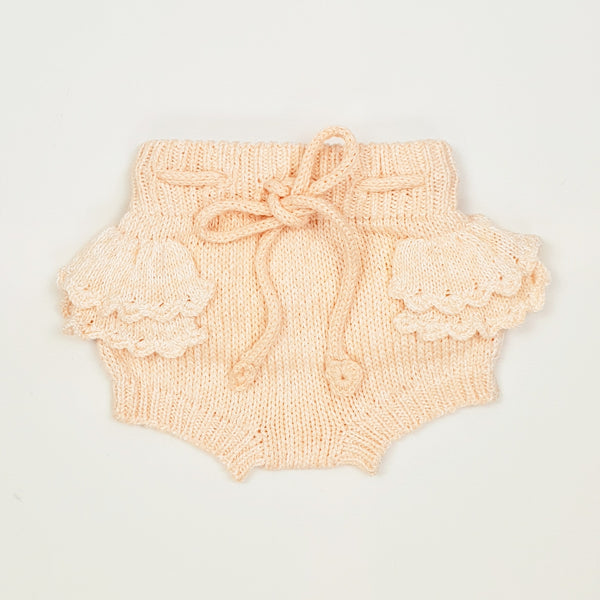 THEODORA Frilled Bloomer - Peach Pink