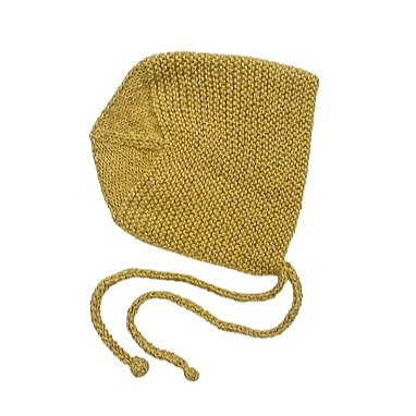 BASTIEN 'Alpaca' Bonnet - Acid Yellow