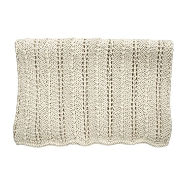 HEIRLOOM 'Alpaca' Blanket - Cloud