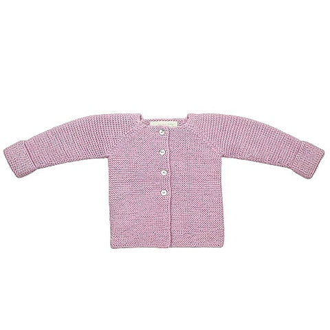 CLEMENTINE 'Alpaca' Cardigan - Candy Pink