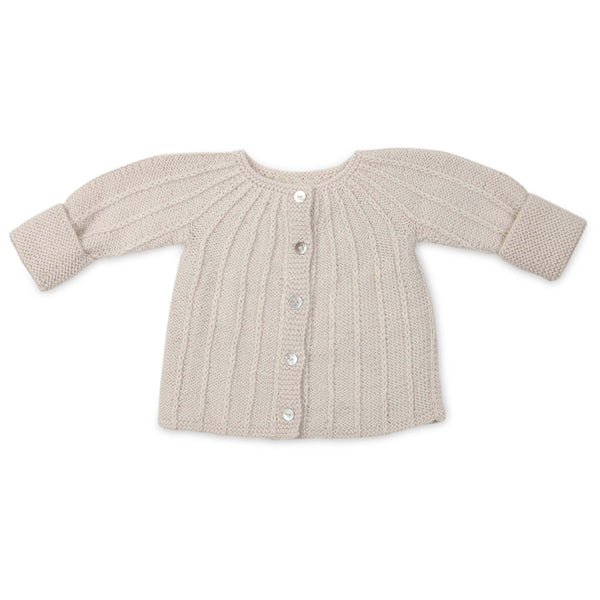 PHILIPPA 'Alpaca' Cardigan - Cloud