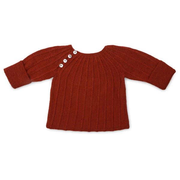 STELLA 'Alpaca' Jumper - Copper