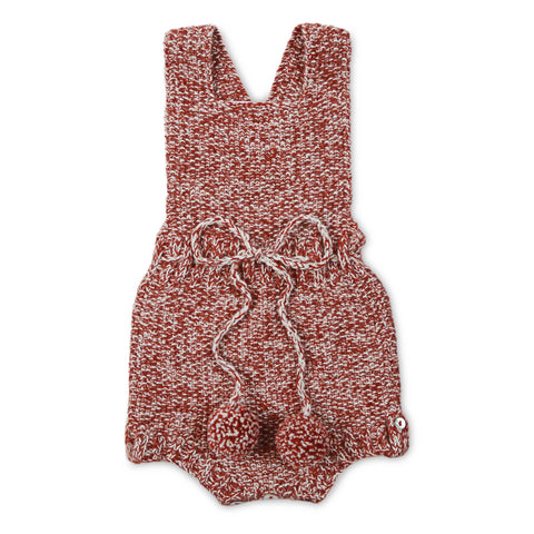 MARLOW 'Alpaca' Romper - Copper & Cloud