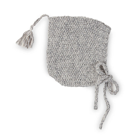 MAXIMUS 'Alpaca' Pixie Hat - Silver & Cloud