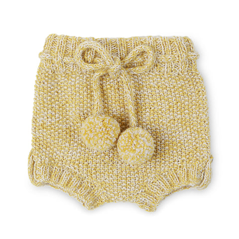 STOREY 'Alpaca' Bloomer - Acid Yellow & Cloud