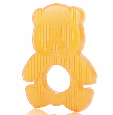 HEVEA Rubber Panda Teether - Natural