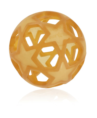 HEVEA Rubber Star Ball - Natural