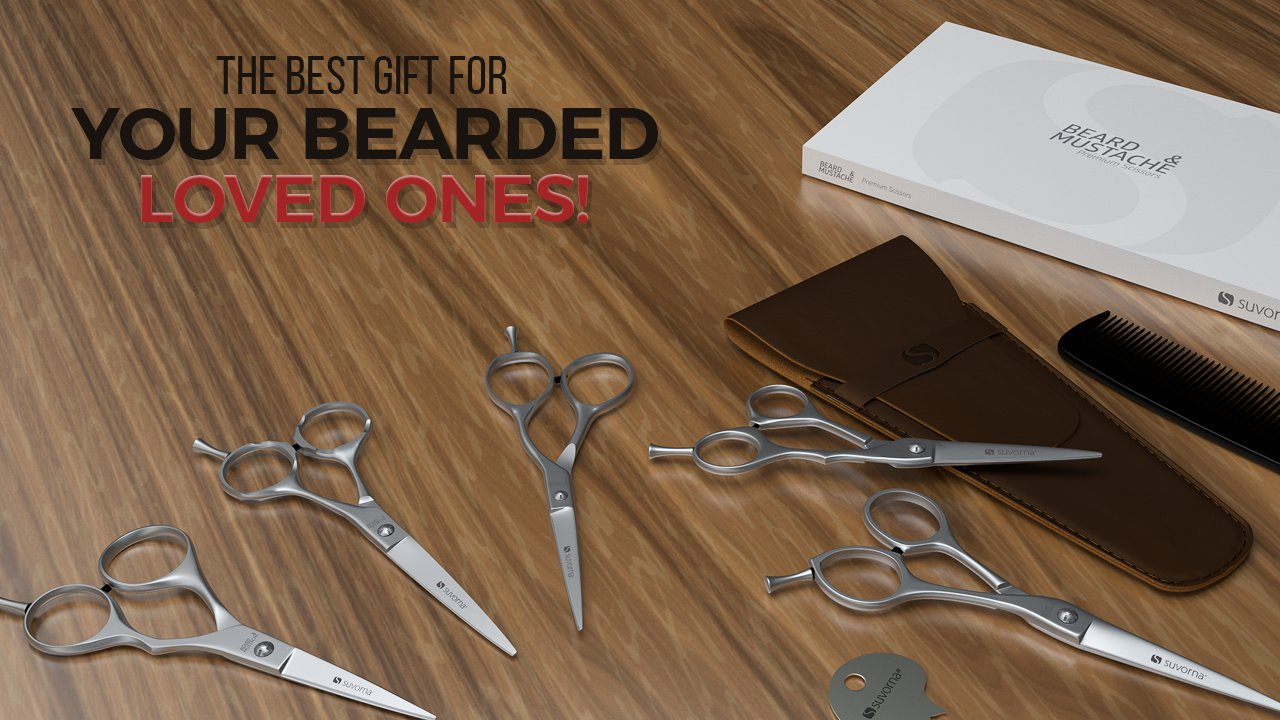 Beard & Mustache Scissors and Kits