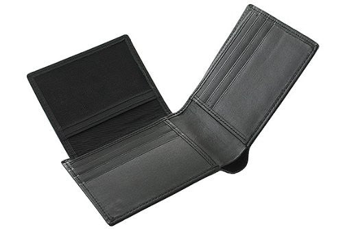Biflod Men's Leather Wallet -BLK