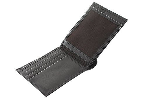 Slim Fit Men's Leather Wallet -BRN