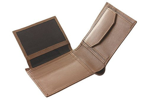 Classic Men's Leather Wallet -TAN