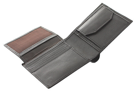 Classic Men's Leather Wallet -BRN