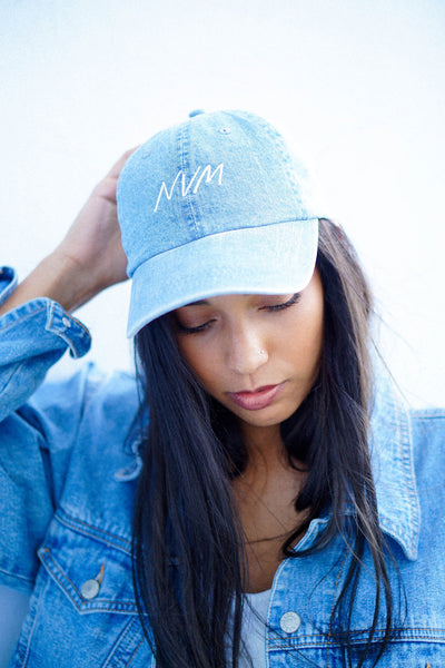 NVM HAT IN LIGHT DENIM