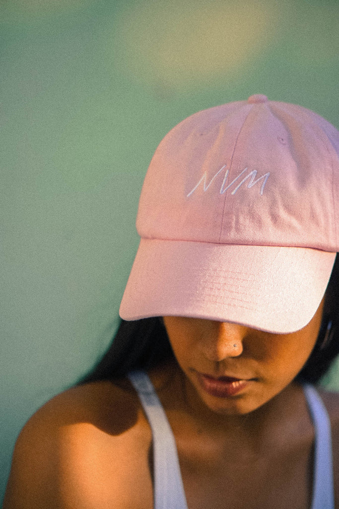 NVM HAT IN LIGHT PINK