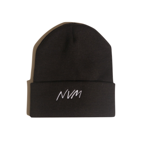 NVM BEANIE IN BLACK