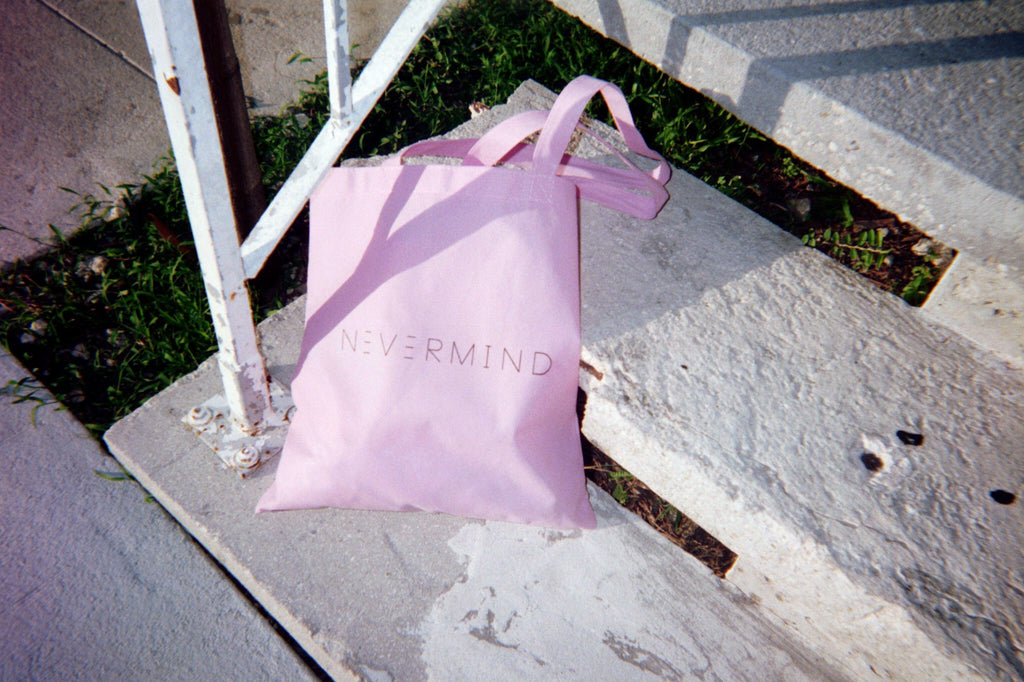 NVM TOTE IN LIGHT PINK