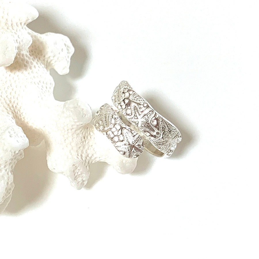 Adjustable sea star ring