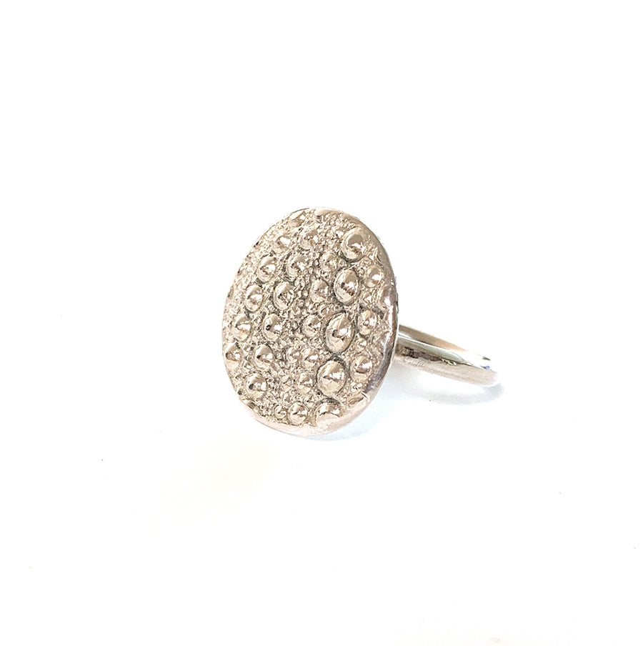 Sea Urchin Beach inspired Ring