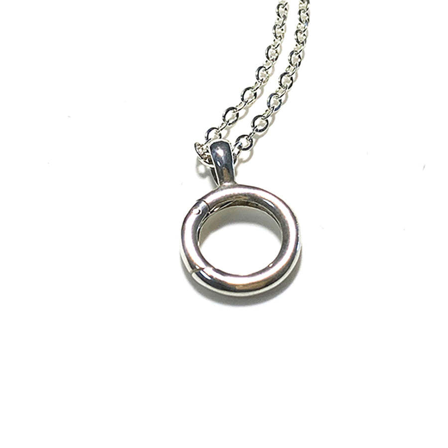 Interchangeable Charm holder with 2.2mm Chain option