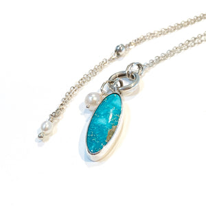 Natural Turquoise Mountain Necklace