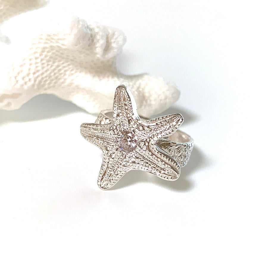 Ocean Star Ring on box