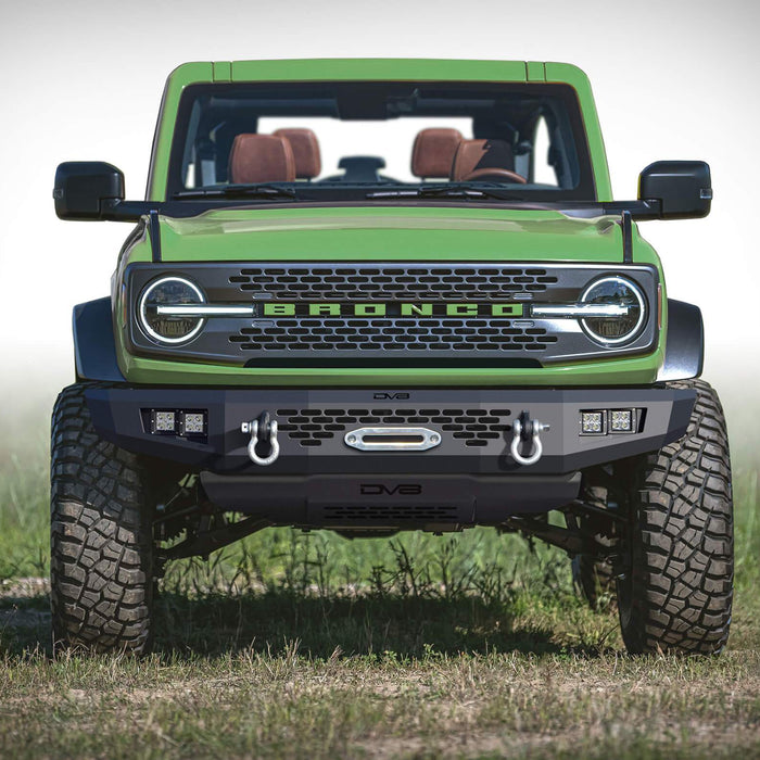 DV8 Offroad Ford Bronco Aftermarket Bumpers, Parts & Accessories