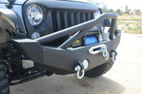 How to Install a Front Bumper on Jeep Wrangler.