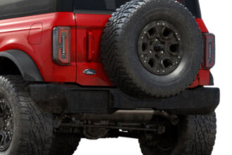 2021 Ford Bronco aftermarket rear bumpers