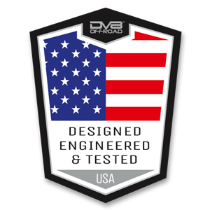 Designed, Engineered, and Tested by DV8