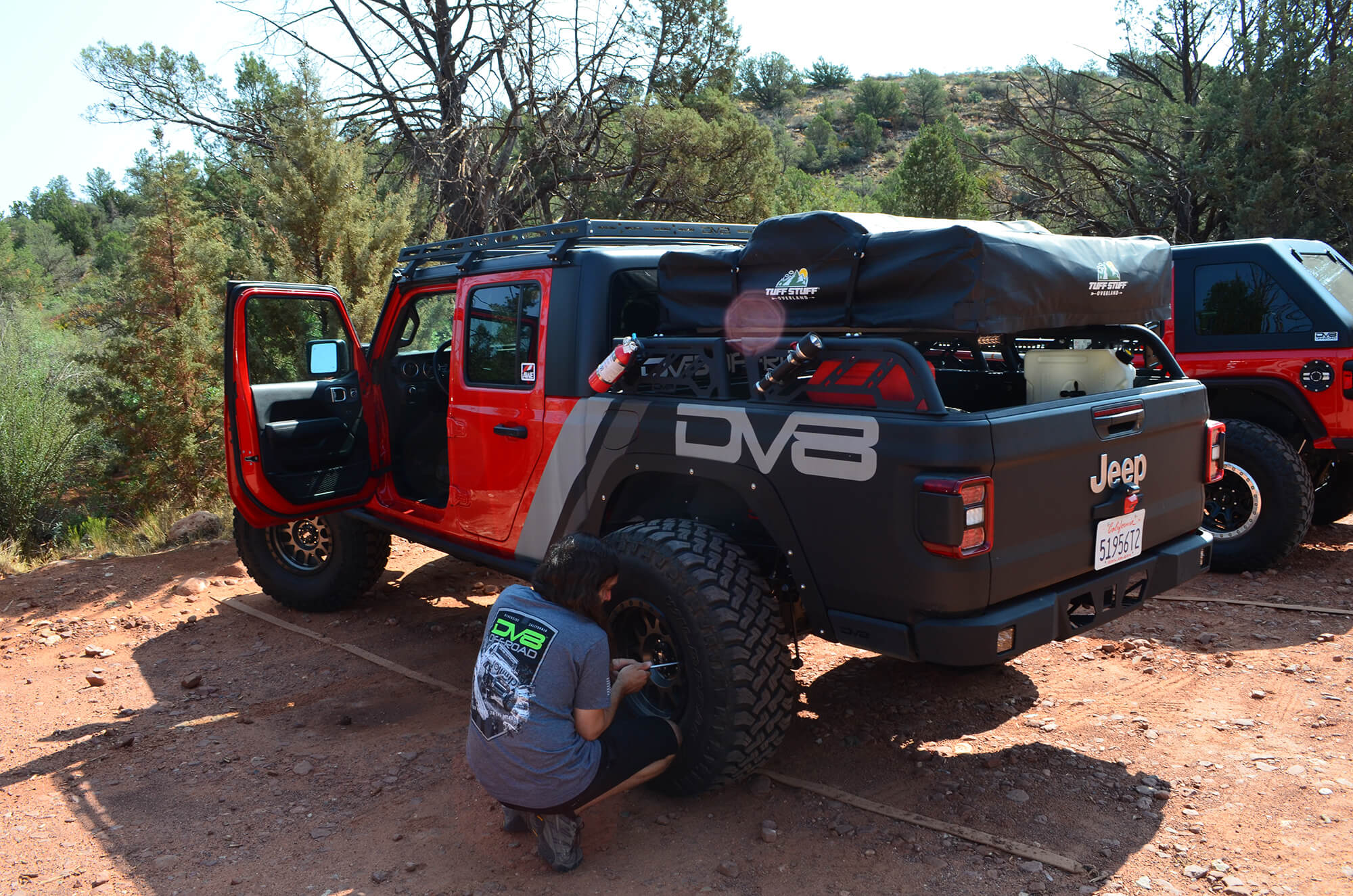 Airing Down Jeep Tires