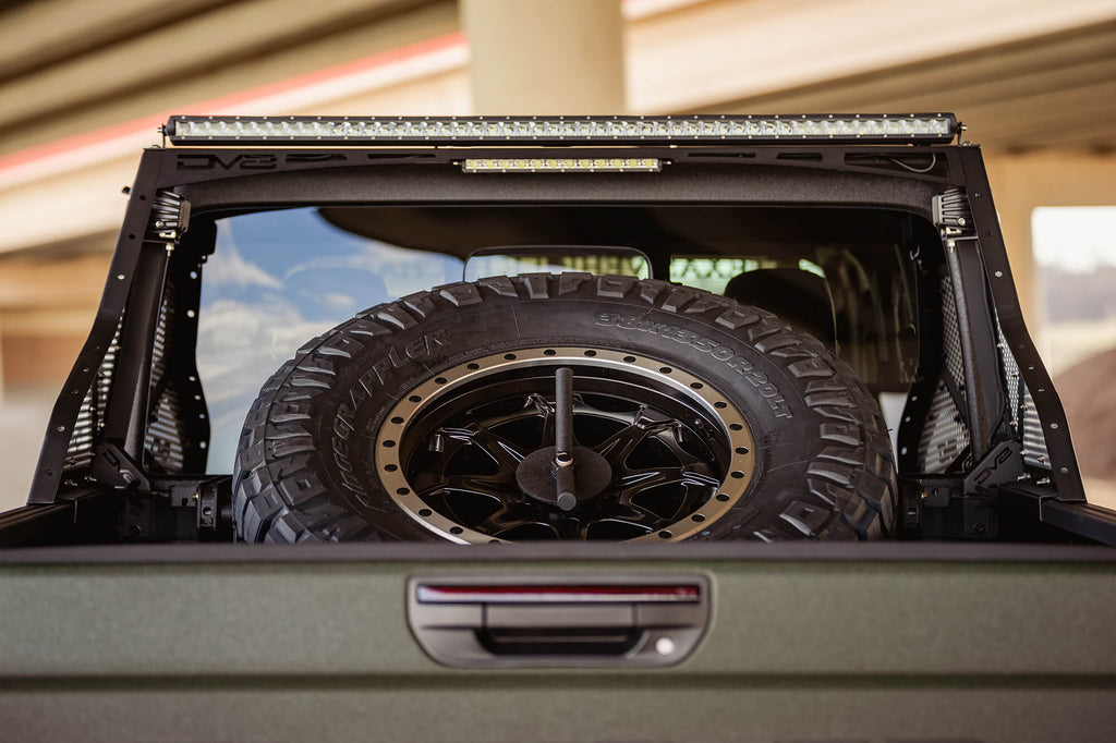 Jeep Gladiator JT tire carrier