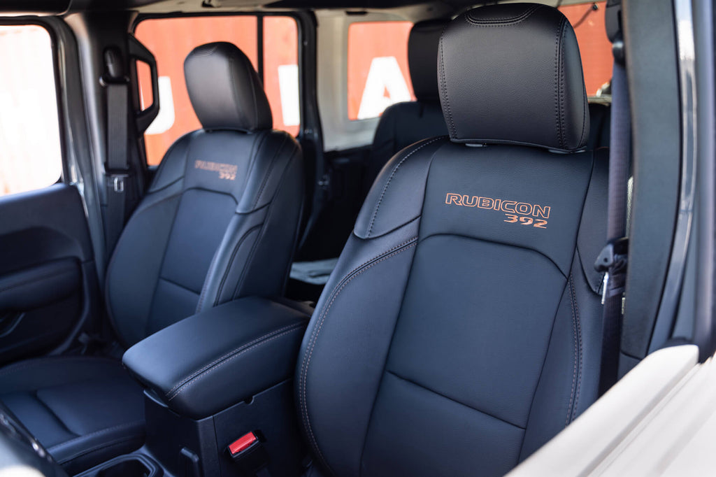 Rubicon 392 Seats with Embroidered Logo